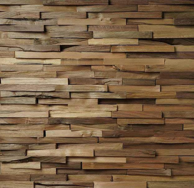 Pannelli, pannello 3D in legno tridimensionale, rivestimento pareti, Noce  eBay