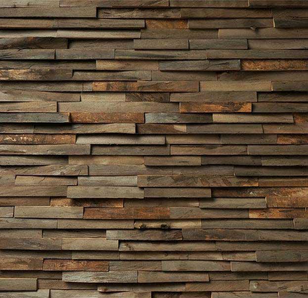 Pannelli 3d in legno tridimensionali - Rivestimento pareti interne in legno ...