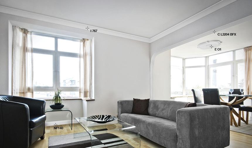 Cornici per pareti e soffitti italstyl for Cornice adesiva per pareti