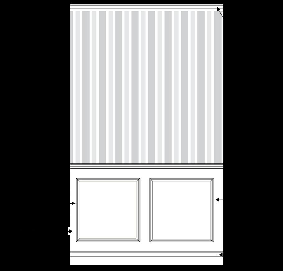 ... pareti particolarmente lunghe, quando si usano pannelli laccati, le