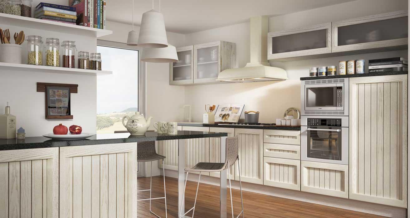 Ante cucina legno grezzo - Mobili a persiana ...