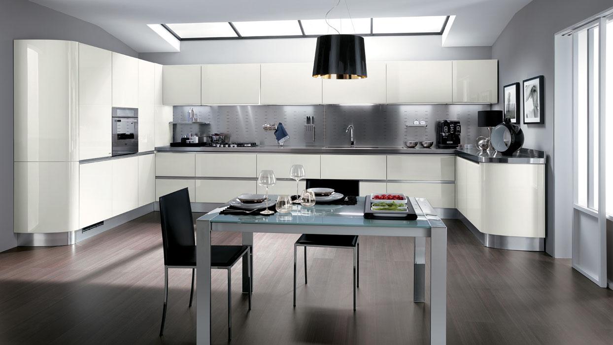 Beautiful Cucina In Acciaio Inox Contemporary - Ideas & Design ...