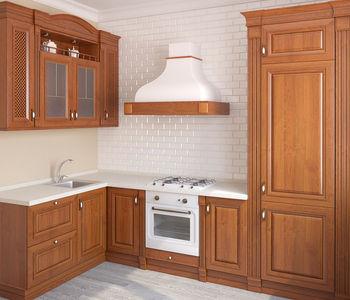 Ante in legno e vetro per cucine e armadi, su misura