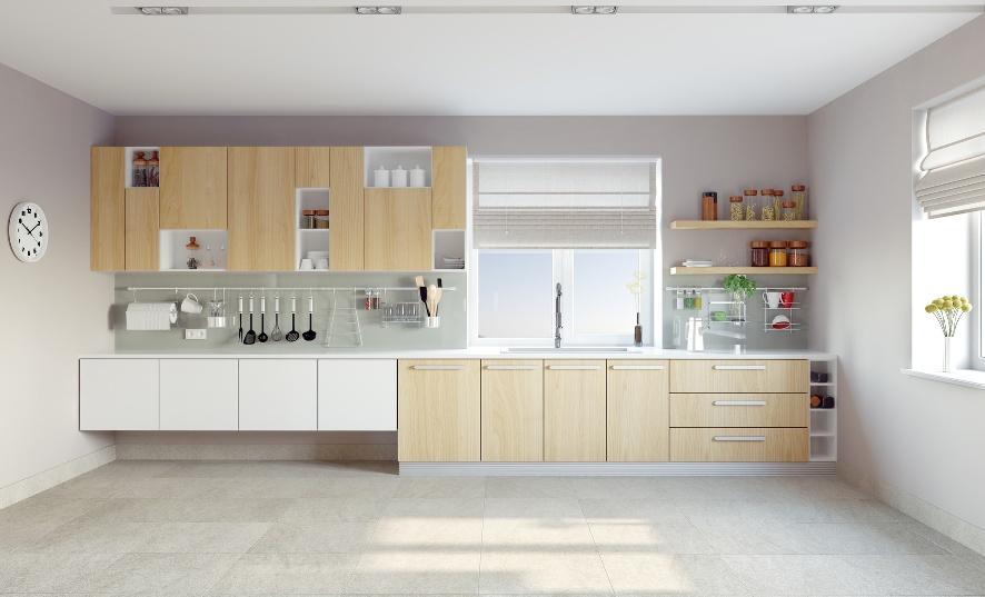 Ante in legno, laminato e vetro per cucine e armadi, su misura