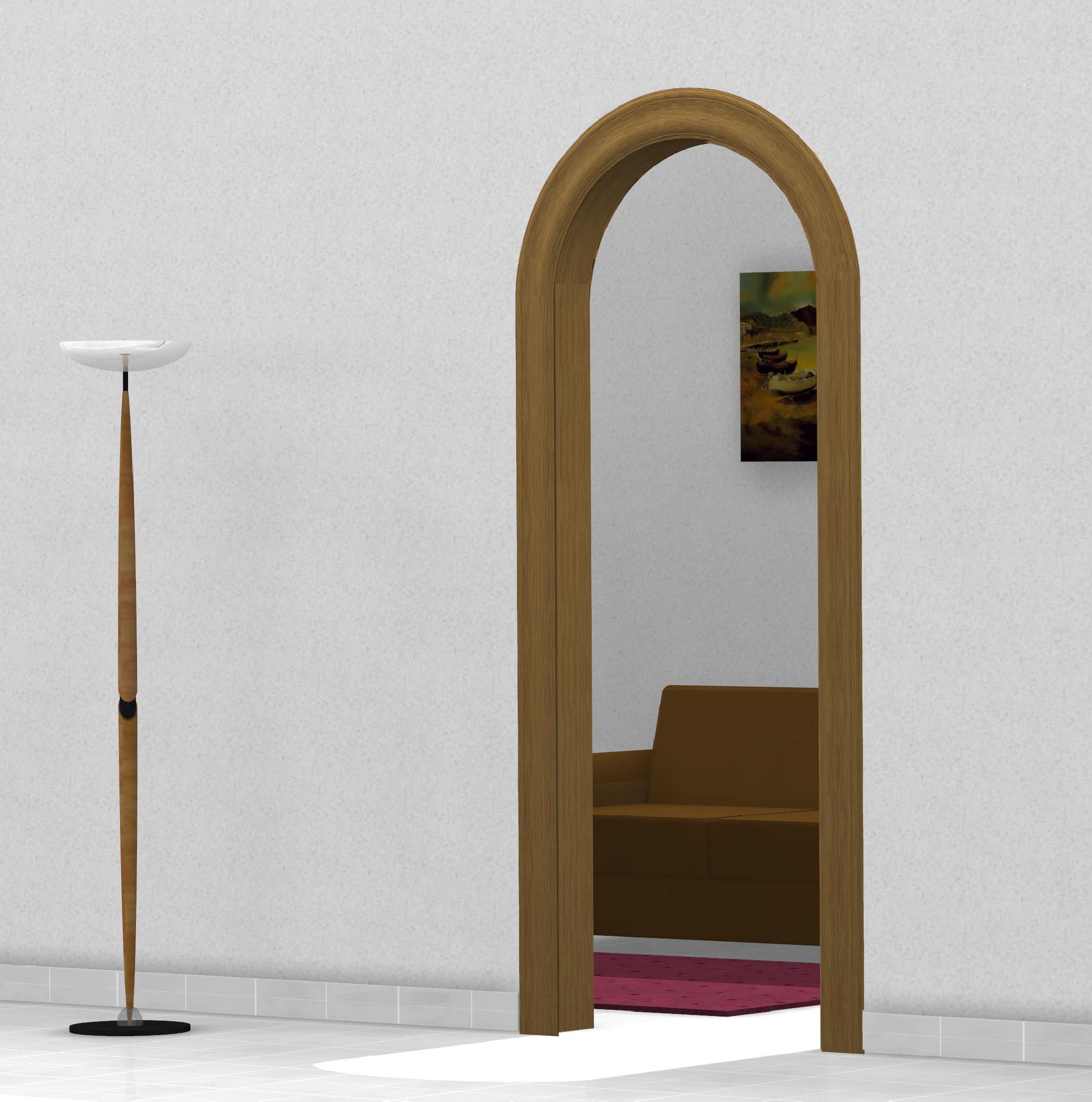 Archi in legno per interno vendita online for Archi per interni appartamenti