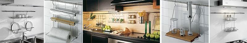 Barre e portaoggetti da cucina negozio online - Barra portautensili cucina ...