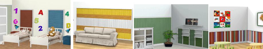 Boiserie e profili in legno per arredamenti d 39 interni for Arredamenti monterotondo