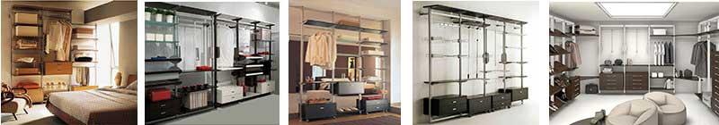 Componenti per armadi e cabine armadio - Scaffali per cabine armadio ...