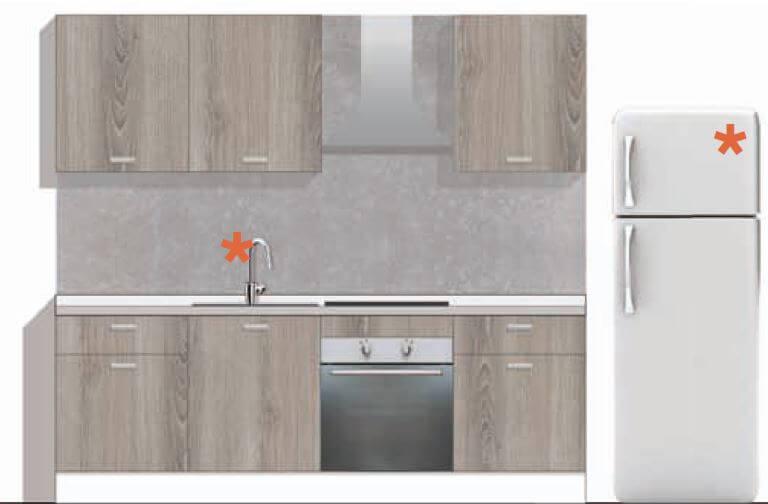 Moduli per cucine componibili fabulous pensile scolapiatti per cucina componibile con cassetto - Ante per cucine componibili ...