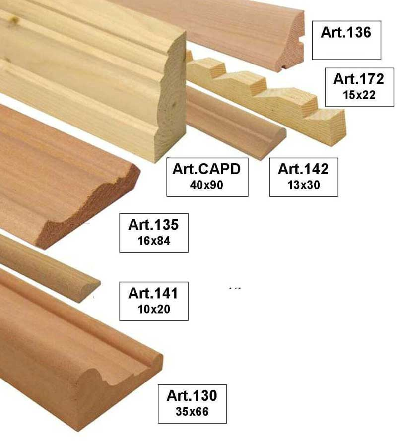 Cornici in legno per falegnameria : Cornici per ...