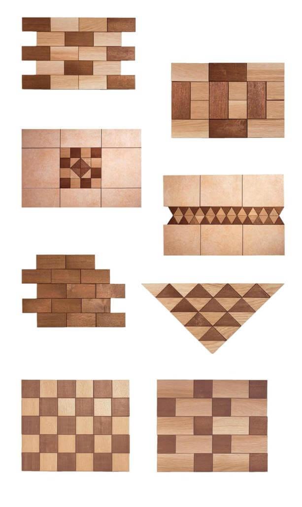 Mattonelle in legno 48180 - Decori in legno per mobili ...