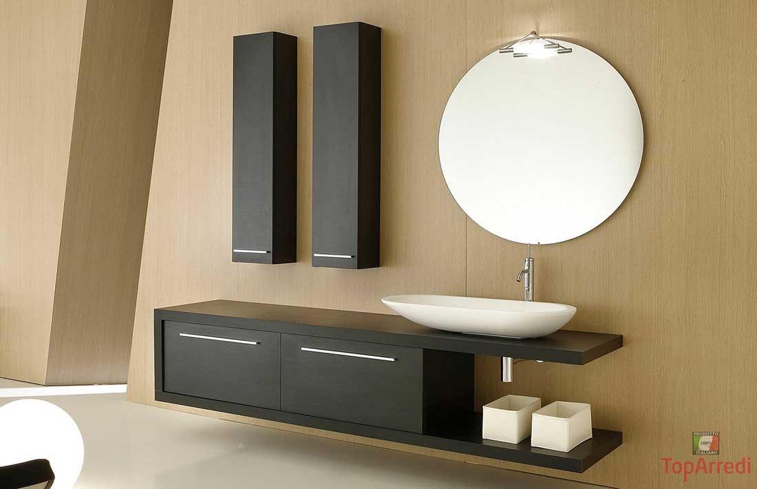 Top per bagni cucine e mobili - Lavabo bagno sospeso ...