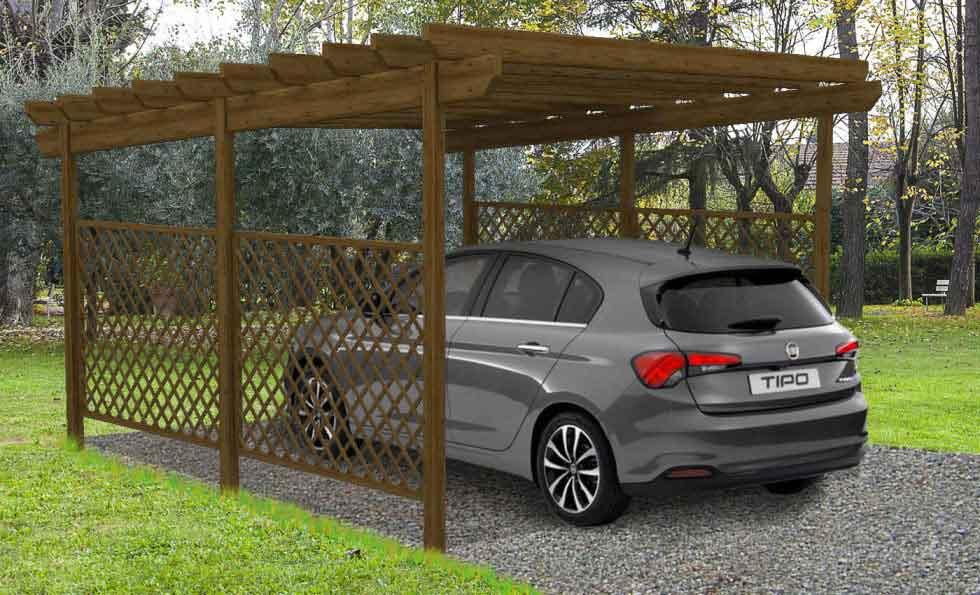 Covercar e tettoie per macchine for Tettoie economiche