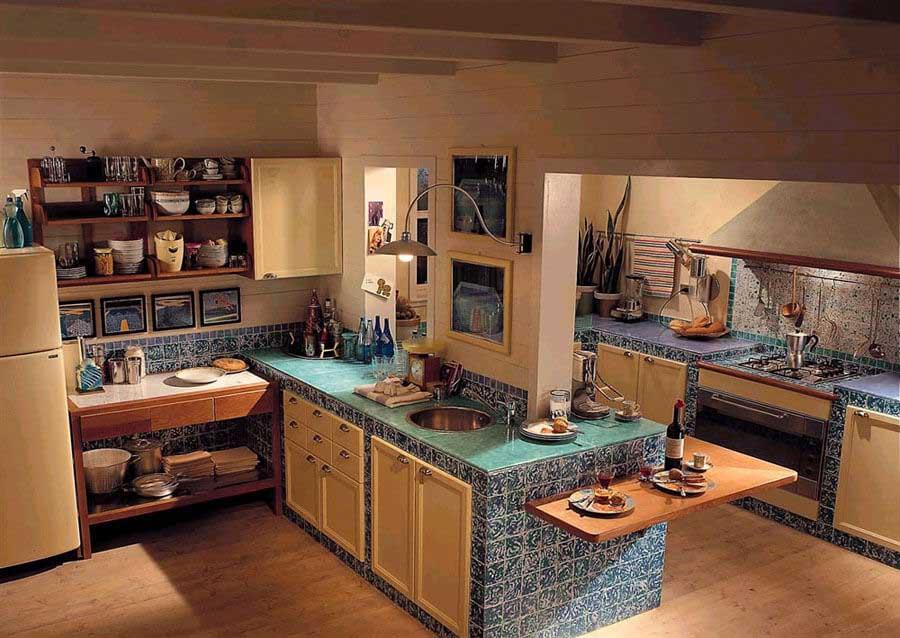 Base per cucine in muratura su misura - Cucine stile toscano ...
