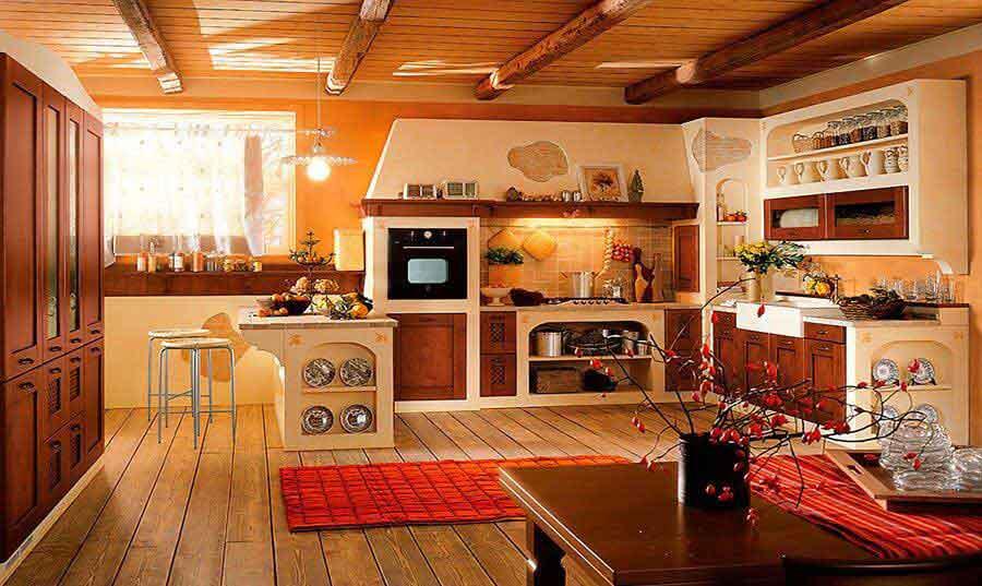 Base per cucine in muratura su misura for Esempi di cucine in muratura
