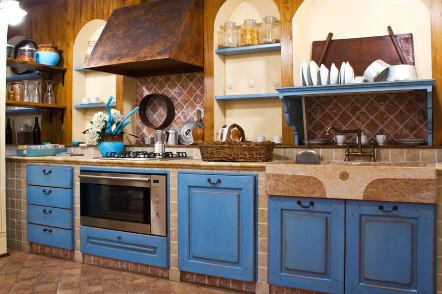 Strutture per cucine in muratura su misura