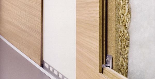 Pannelli parqwall - Spessore muri interni ...