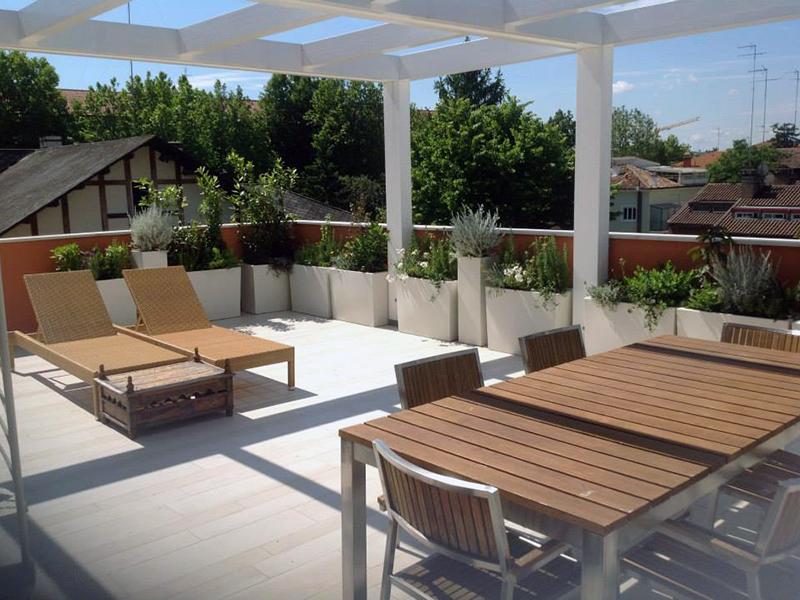 Progettambienti for Arredamento per terrazzo piccolo