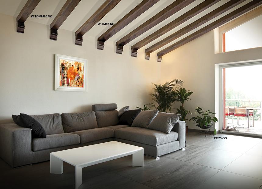 Soffitto In Legno Finto : Travi rustiche per soffitti in poliuretano negozio online