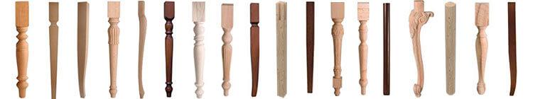 Gambe in legno per tavoli negozio online for Gambe per tavoli