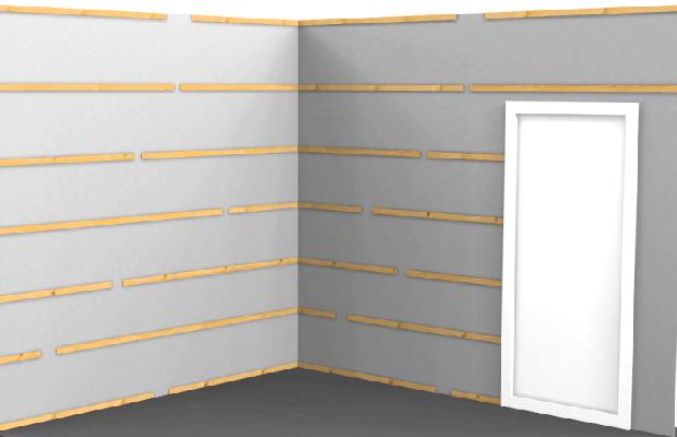 Legno per pareti pannelli per pareti in legno bagno for Bricocenter mensole