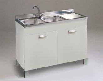 Base Lavello Per Cucina Da 120 Cm A 2 Ante Negozio Online Mybricoshop Com