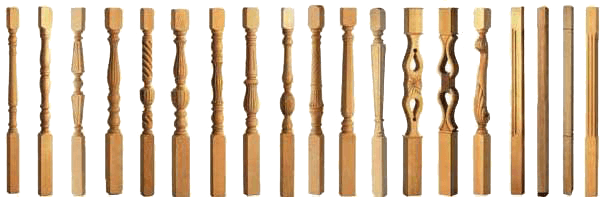 Ringhiere classiche in legno