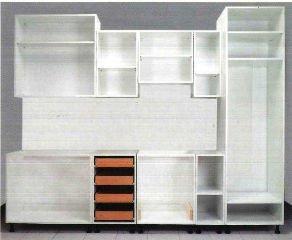 Casse per cucine e mobili in kit