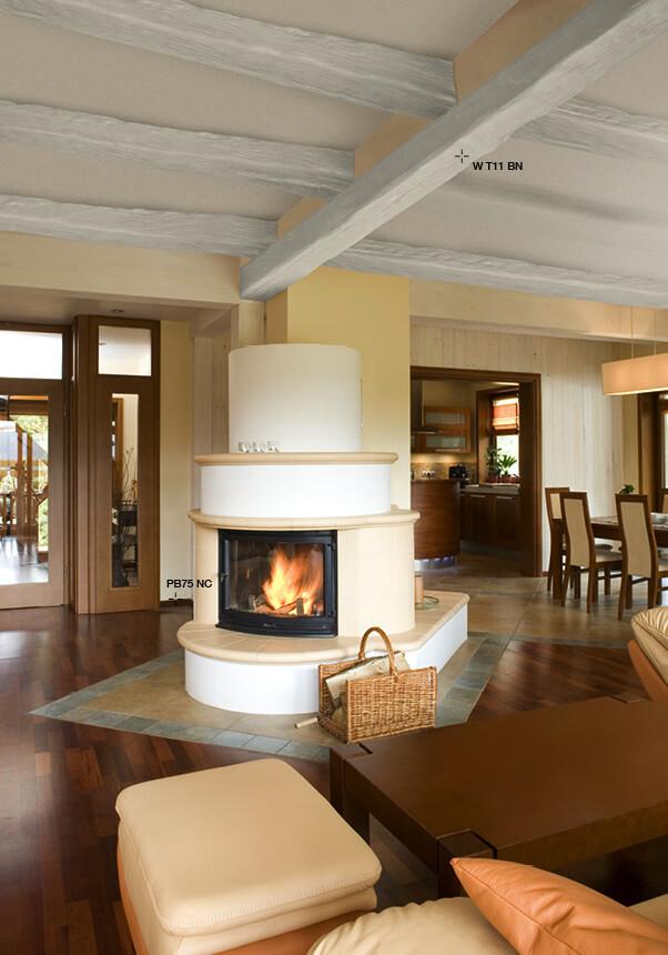 Travature per soffitti in legno e in poliuretano for Finte travi di legno