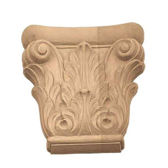 Decoro in legno scolpito13175 - Decori in legno per mobili ...