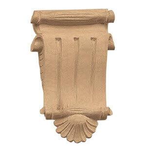 Decoro in legno scolpito13178 - Decori in legno per mobili ...