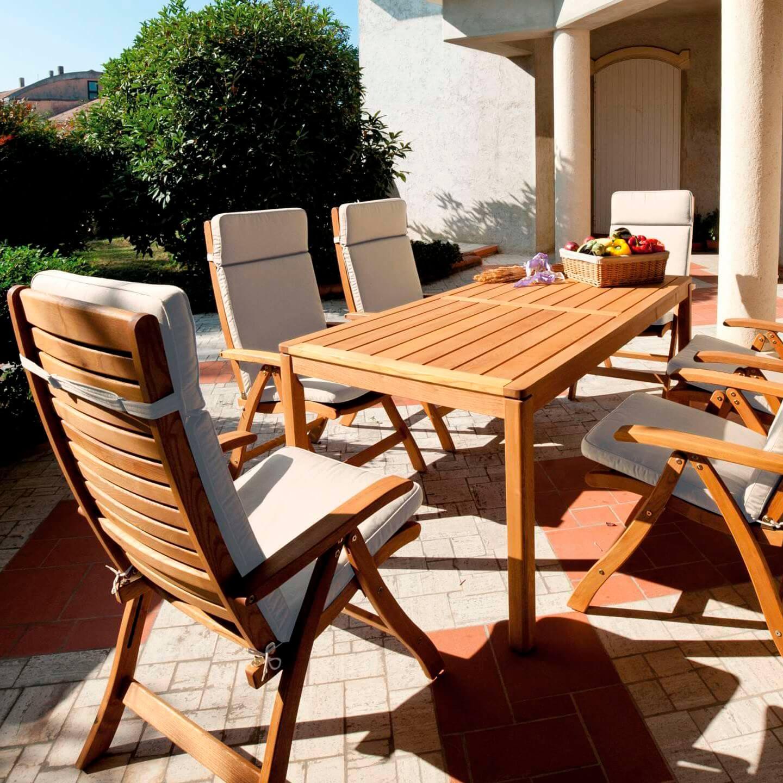 Tavolo allungabile da giardino floor negozio online - Tavolo allungabile da giardino ...