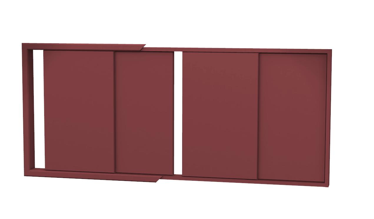 Costruire Armadio A Muro In Legno.Armadio A Muro Fai Da Te Ante Scorrevoli Elegant Ante Scorrevoli