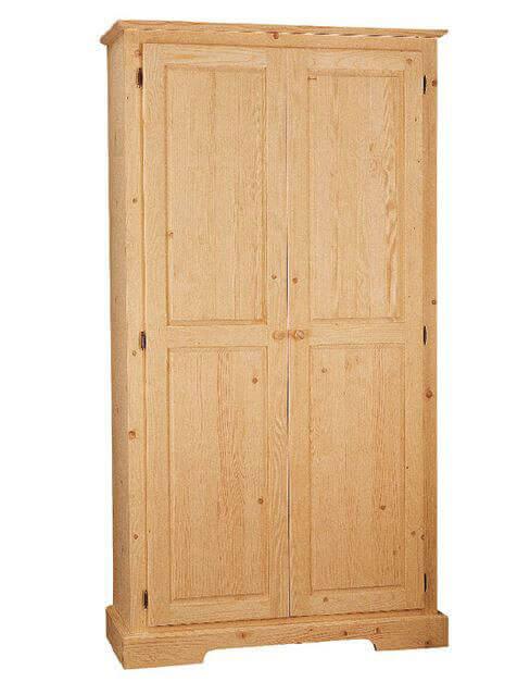 Armadio quattro funzioni in legno massello