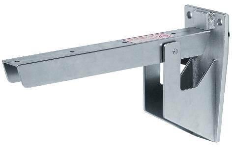Mensola per panche hebgo portata 250 kg negozio online for Reggimensola pieghevole