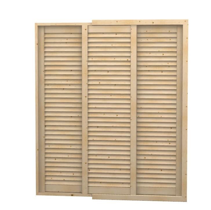 Antina scorrevole aria con telaio su misura a persiana - Ante mobili fai da te ...