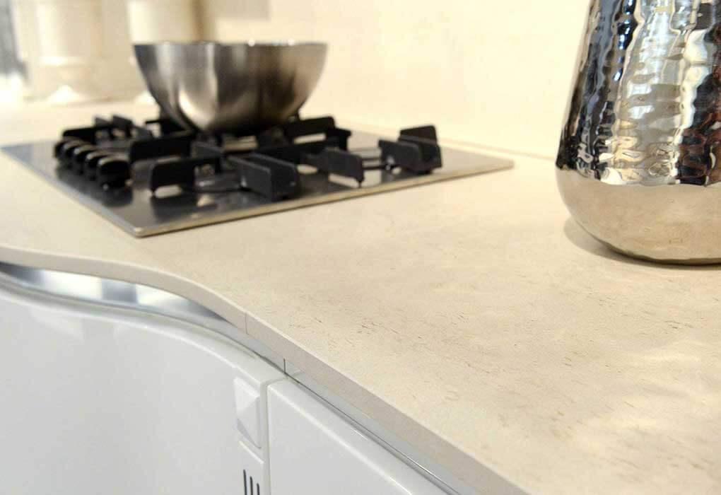 Top per cucine normale a profondit maggiorata isola e penisola in dekton - Piano cucina in dekton ...