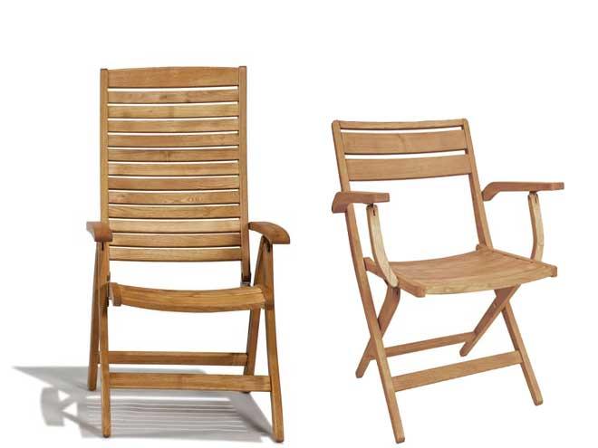 Sedie In Legno Con Braccioli : Sedia da giardino floor con braccioli in legno negozio online