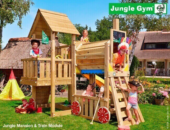Parco-giochi-Jungle-Gym-Cubby-Train-torretta-scivolo-arrampicata-mybricoshop