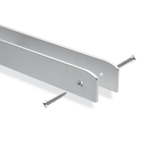 Bordatura top con profilo in alluminio