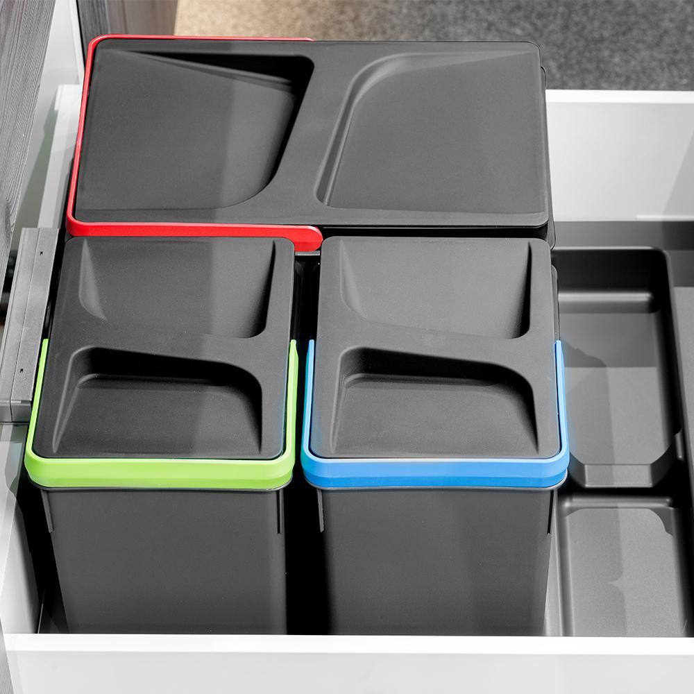 Cestini Raccolta Differenziata Casa contenitore rcycle per raccolta differenziata per mobili da 60 e 90