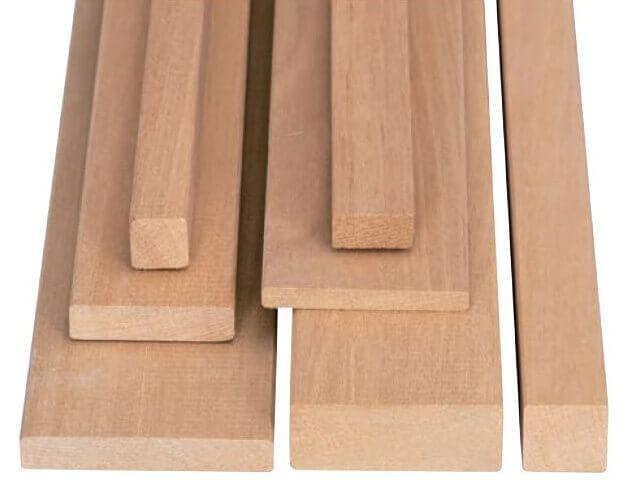 Profili in legno di bahia - Tavola legno lamellare faggio ...
