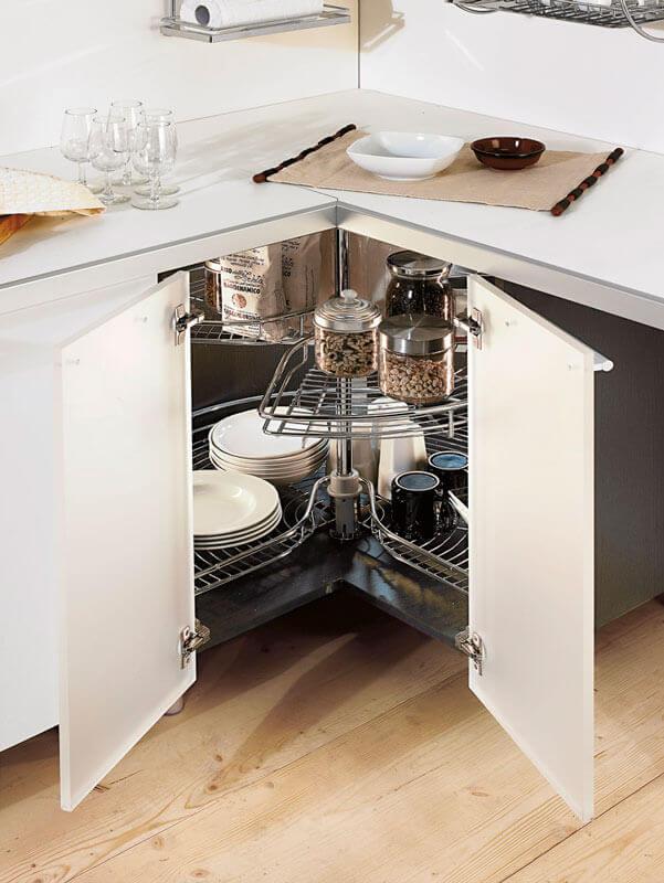 Girello 3 4 per angolo per cucina - Mobili per angoli ...
