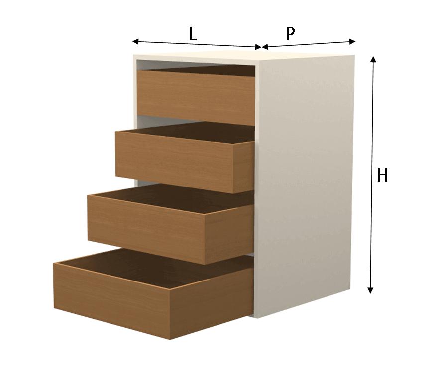 Modulo cassettiera universal - Ikea finanziamento cucina ...