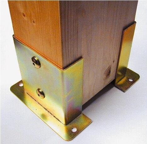 Sistemi di fissaggio travi in legno