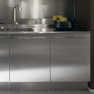 Cucine In Acciaio Componibili.Anta Acciaio Inox