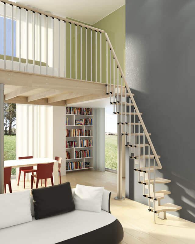 Styling A Staircase: Scala Per Spazi Ristretti Negozio Online Mybricoshop.com