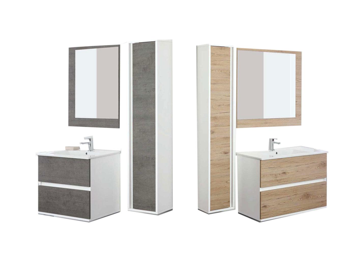Mobile bagno con doppio lavabo bagno da sogno dalani e ora westwing