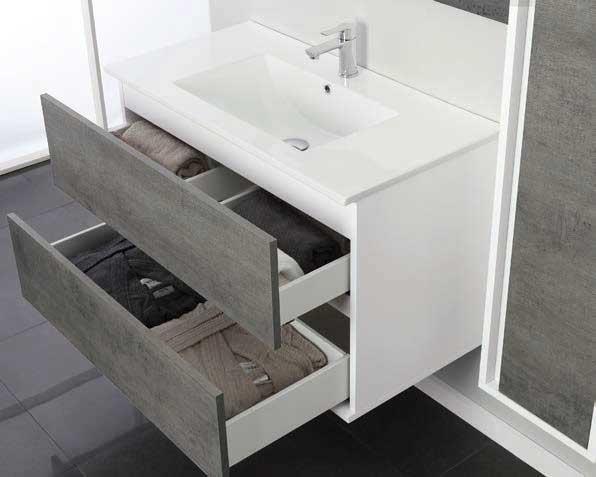 Carino mobili per lavabo bagno mobile doppio idee d arredo ng