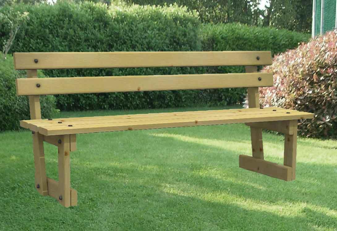 Panchine in legno tutte le offerte cascare a fagiolo - Panchine da esterno in ferro ...